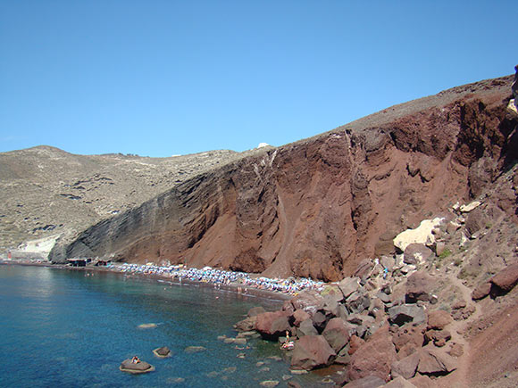 Red Beach of Santorini
